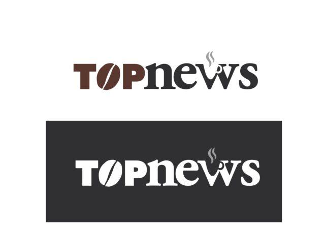 Logo Top News in positivo e negativo