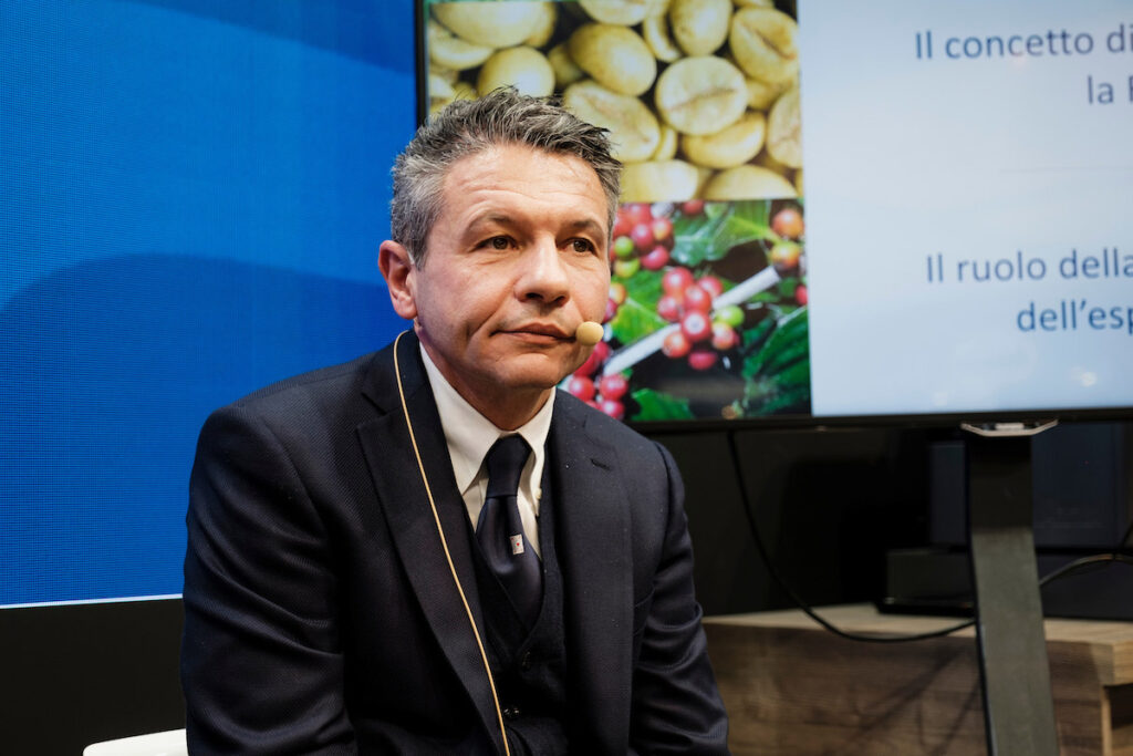 Michele Cannone, Head of Food Service Marketing Lavazza