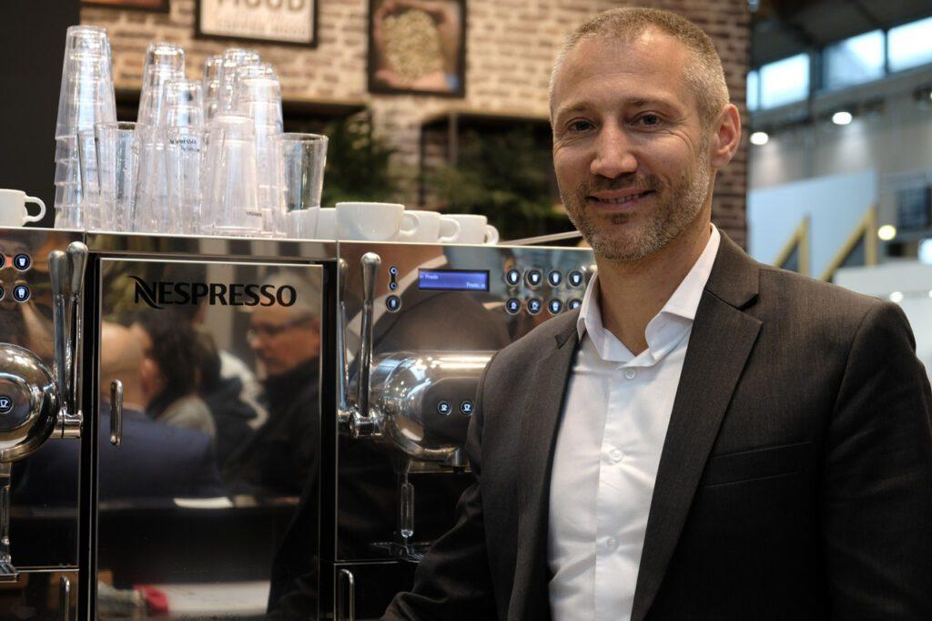 Massimiliano Marchesi brand ambassador Nespresso