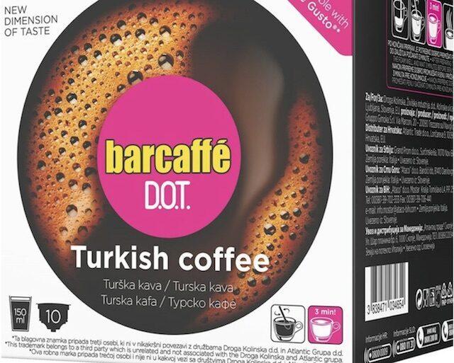 Capsula Gimoka per il caffè turco