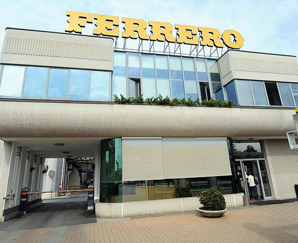 Ferrero Italia premio ferrari