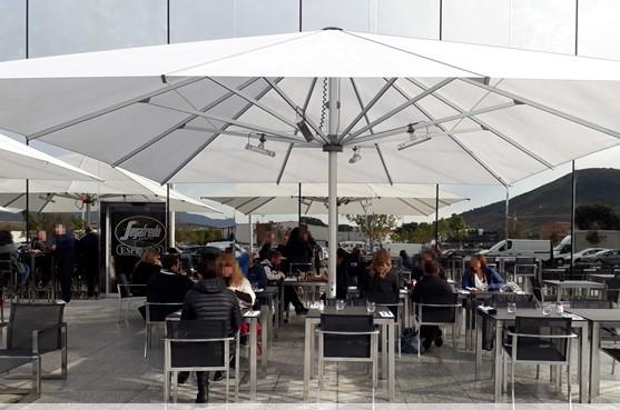 Segafredo Zanetti L'esterno della nuova caffetteria