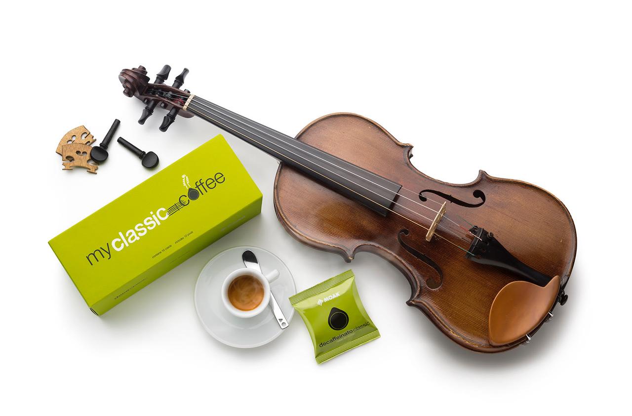 Giovanni Caccamo Una delle miscele della linea My Music Coffee