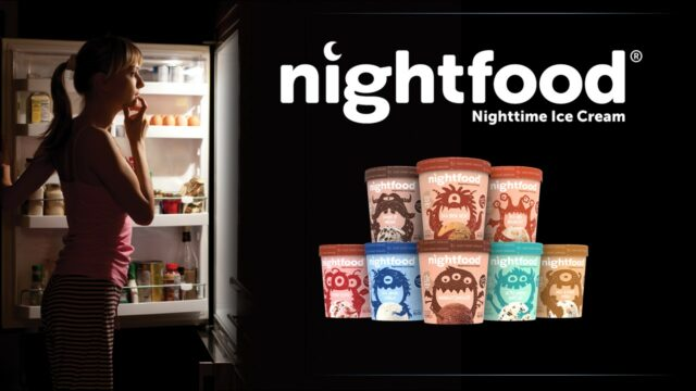 Un'immagine pubblicitaria di Nightfood