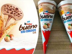 gelati Kinder Le confezioni dei nuovi gelati