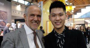 Luigi Lupi ha portato al Sigep il campione del mondo di Latte Art Irvine Quek Siew Lhek