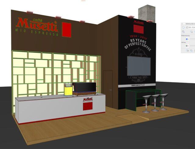 Musetti stand Golositalia 2019