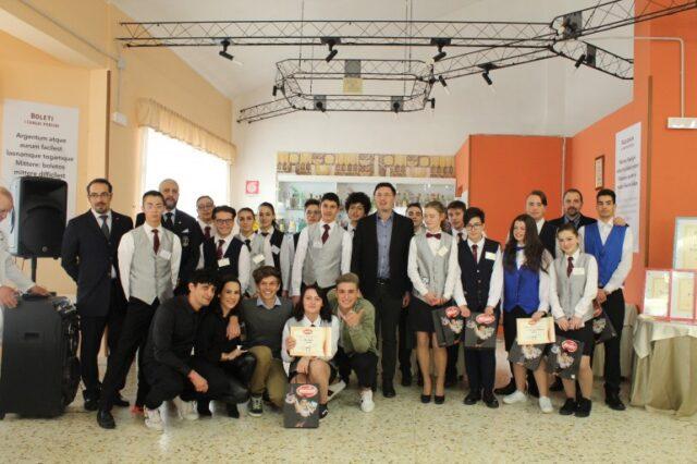 Roccaraso Foto di gruppo al termine della giornata di gara