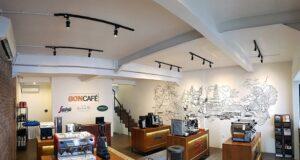 Lo showroom Boncafé di Bali