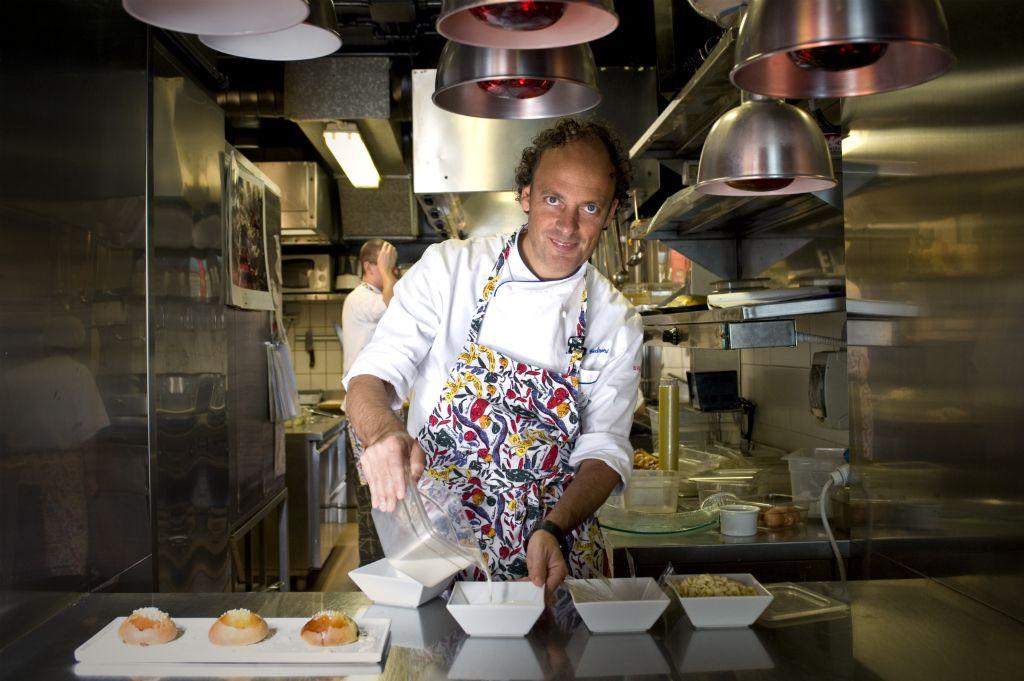 The Tunnel Lo chef Moreno Cedroni