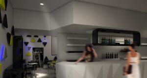 Un progetto di bar del futuro in mostra al Fuorisalone 2016