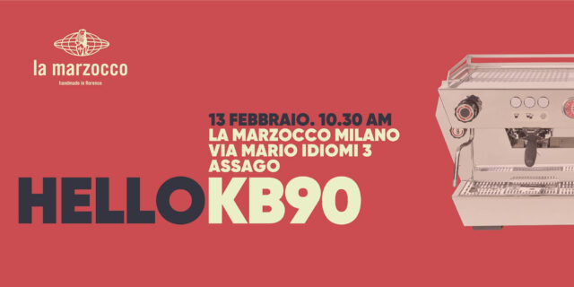La locandina dell'evento di presentazione della KB90