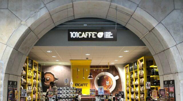 101Caffè retail Un punto vendita di 101Caffè