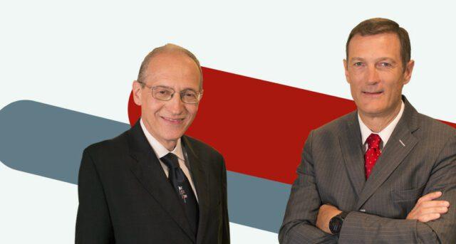 Autogrill Alberto De Vecchi (sinistra) con Gianmario Tondato da Rous