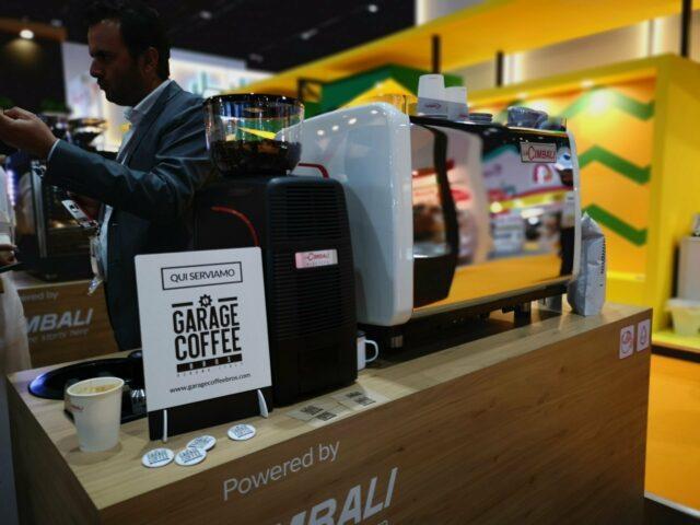 Il caffè di Garage Coffee Bros è stato servito presso lo stand nello stand di Mumac Academy a Gulfood - Dubai