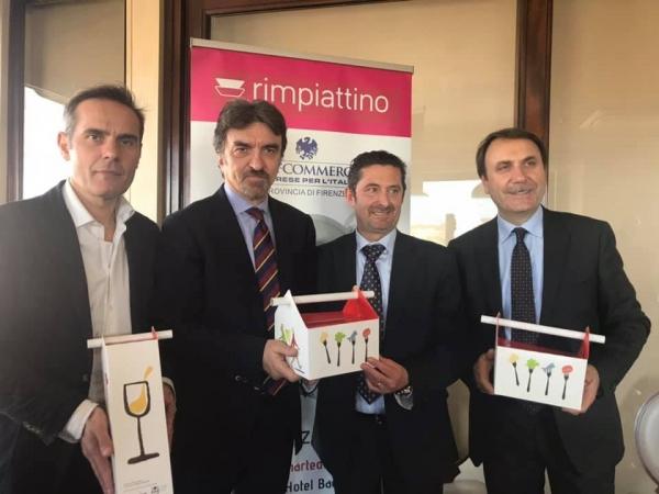 Rimpiattino Firenze La presentazione dell'iniziativa al Grand Hotel Baglioni di Firenze