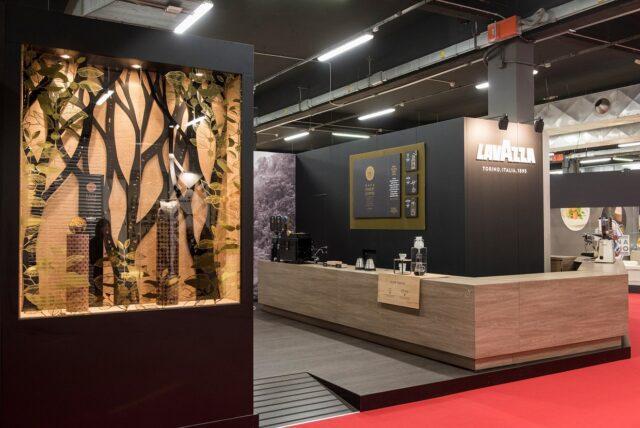 Un dettaglio del Kafa Lounge di Lavazza a Identità Golose