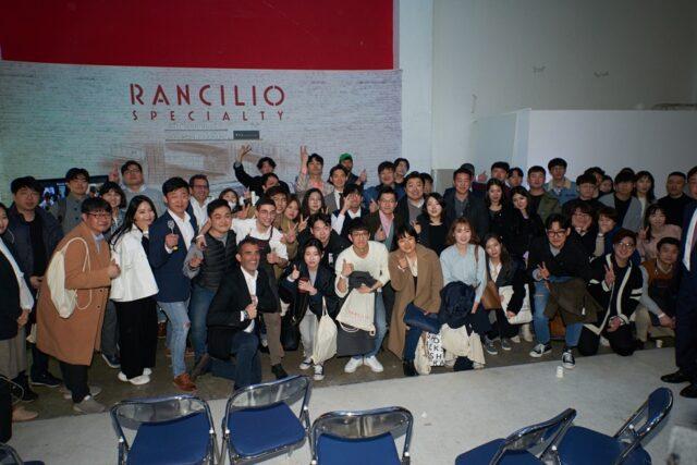 baristi seoul rs1 Foto di gruppo con i partecipanti all'evento