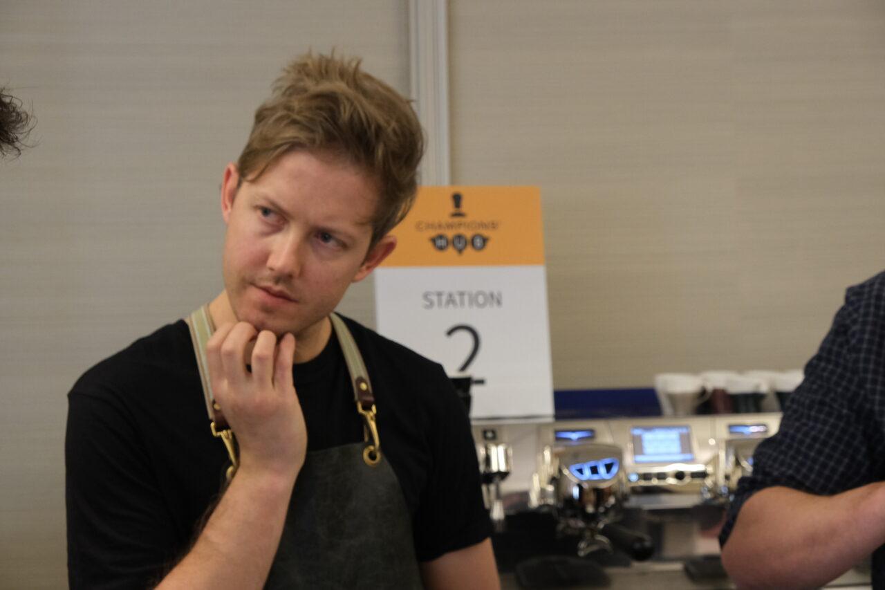 Il campione australiano Matt Lewin