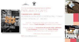 """Ottolina Milano Food City La locandina dell'evento di presentazione del libro """"Parlami di Caffè"""""""
