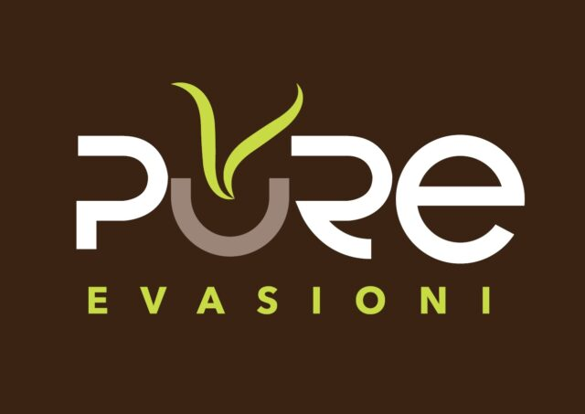 Gimoka Pure Evasioni Multibeverage Il logo di Pure Evasioni, la nuova gamma Multibeverage in capsule di Gruppo Gimoka