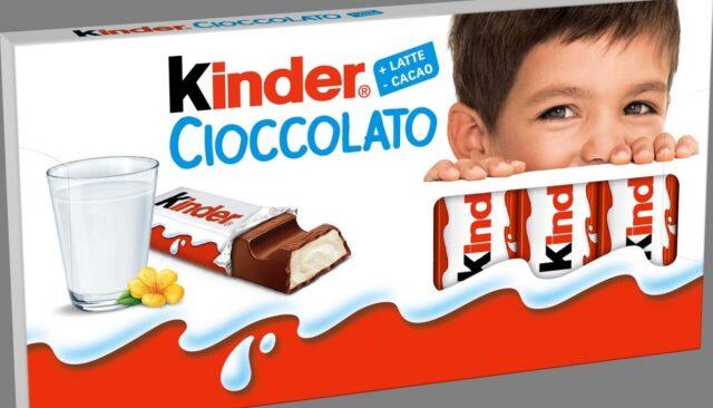 Volto testimonial Kinder Il nuovo volto di Kinder Cioccolato