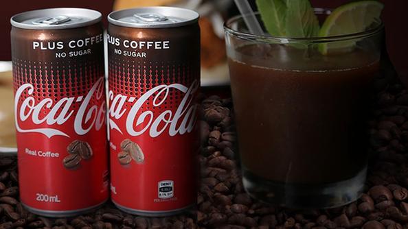 La nuova Coca-Cola Plus Coffee