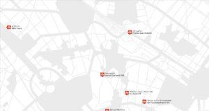 illy design week La cartina con tutti gli appuntamenti che vedranno presente il brand triestino