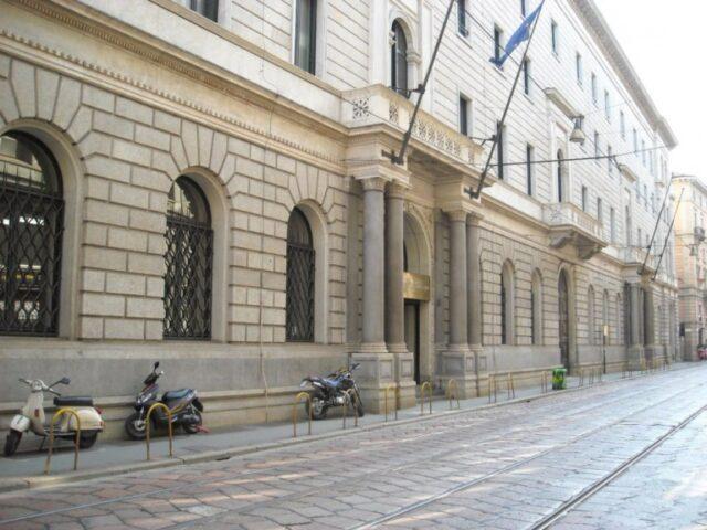 palazzo turati milano brevetti caffè Palazzo Turati, sede della Camera di Commercio di Milano