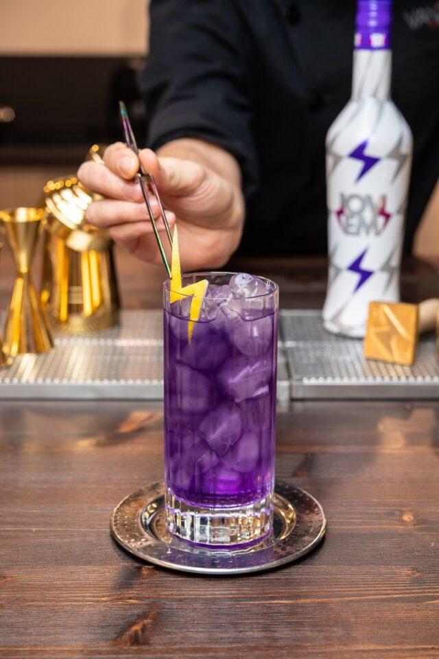 Cocktail Instagrammabili - Thunder Tonic (Bruno Vanzan) aperitivo