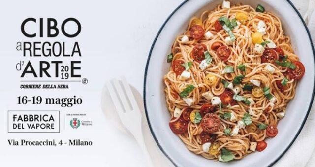 Cibo-a-Regola-dArte-2019 illy La locandina dell'evento in programma a Milano questo fine settimana