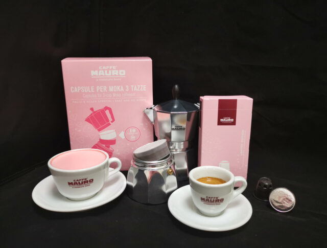 pink coffee I prodotti della Limited Edition di Caffè Mauro