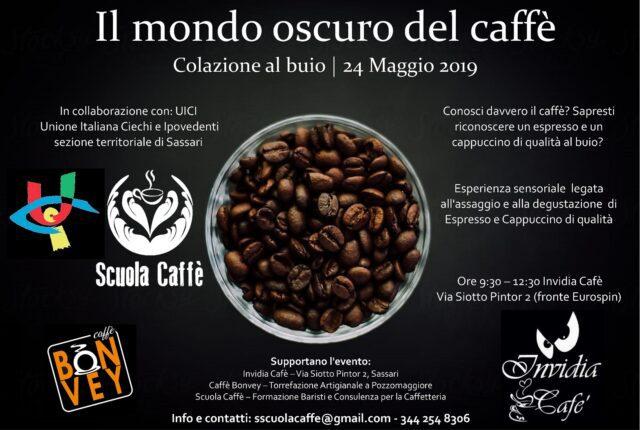 Locandina-Caffè-Oscuro degustare buio La locandina dell'evento