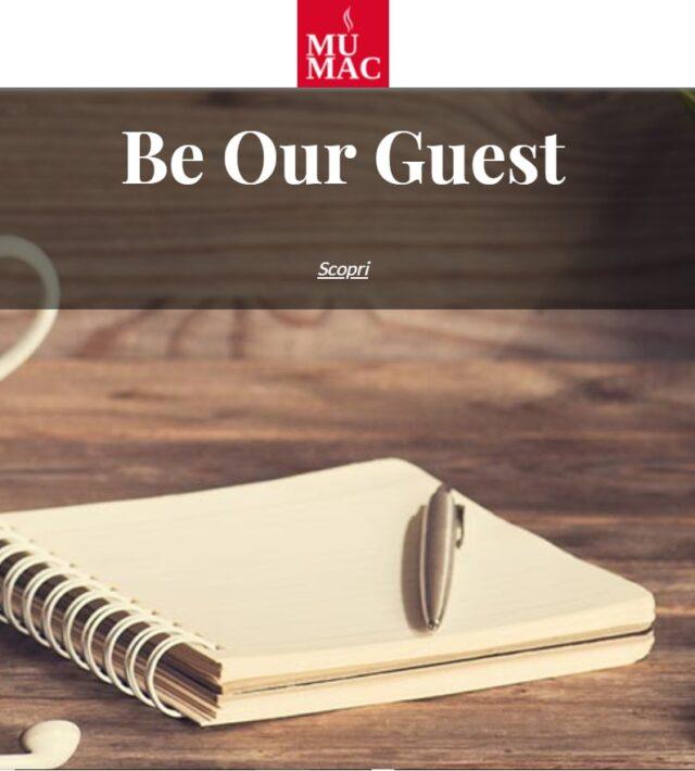 Mumac be our guest La nuova sezione del sito Mumac