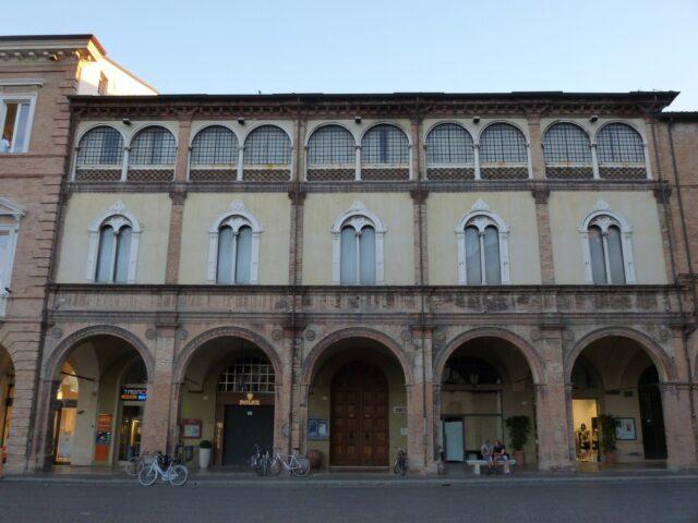 Palazzo_Albertini_-_Forlì_1 espresso and cappuccino Palazzo Albertini a Forlì