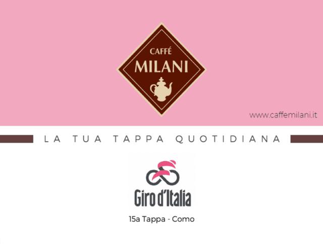 Milani Il claim di Caffè Milani per il Giro d'Italia