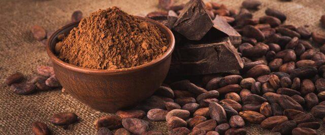 cina mostra cacao cioccolato dolore