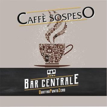 Logo caffè sospeso