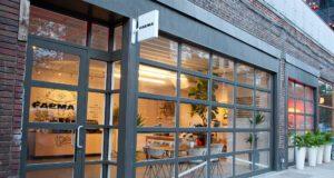 Ingresso pop up store Faema Art & Caffeine NY