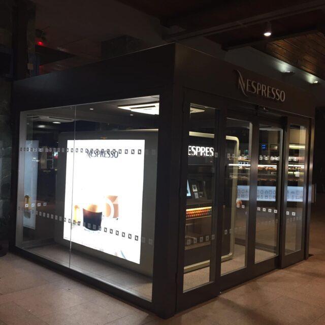 Nespresso vending Cadorna