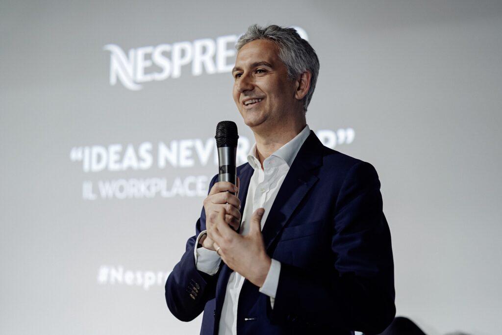 Stefano Goglio direttore generale Nespresso Italia