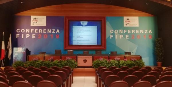 La conferenza della Fipe a Roma