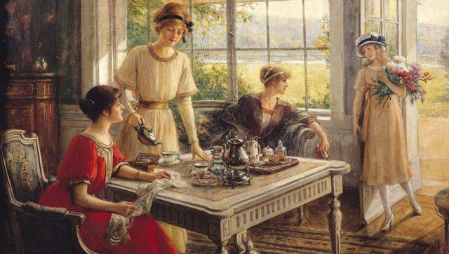 cerimonia del tè tè etichetta