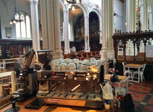 chiesa caffè