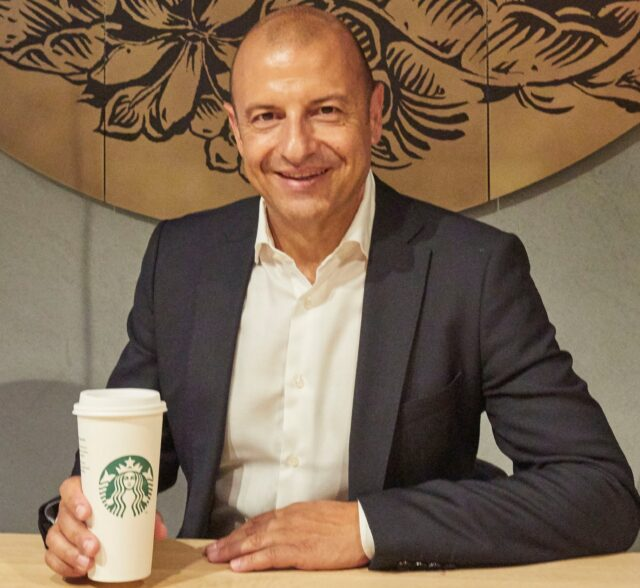 Vincenzo Catrambone, il General Manager Starbucks Coffee Italy