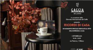 L'invito di Gaggia Milano