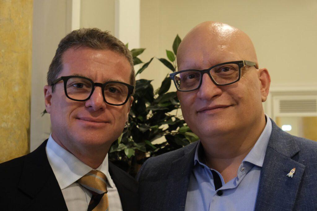 Max Fabian e Cosimo Libardo