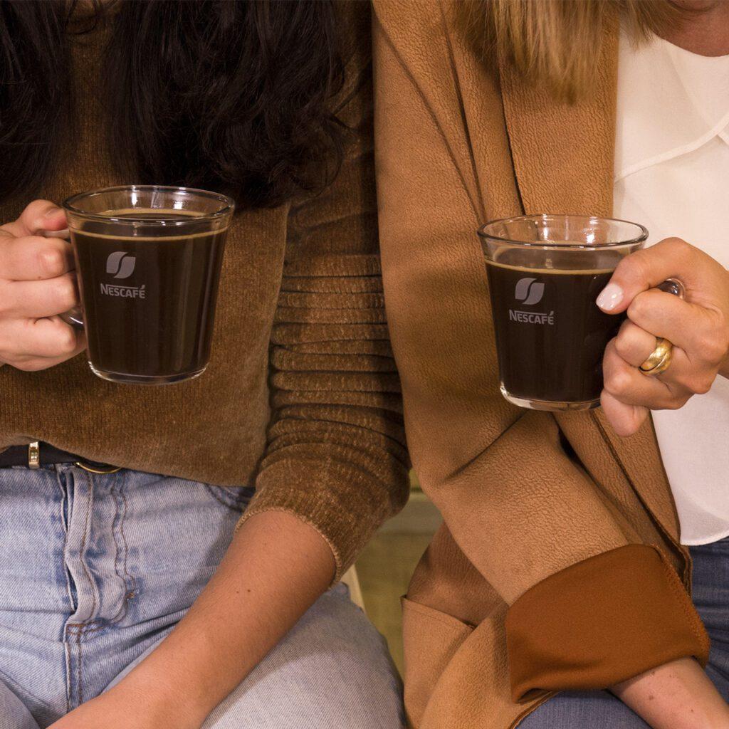 Bicchieri in vetro Nescafé