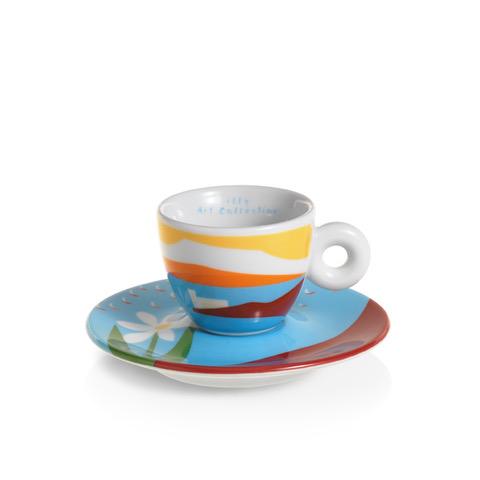 Tazina Olimpia Zagnoli per Barcolana illycaffè