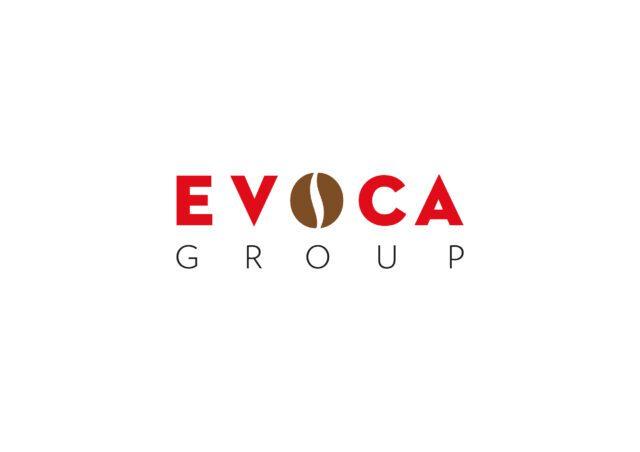 Il logo di Evoca Group brand system